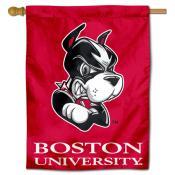 Boston University Terriers House Flag