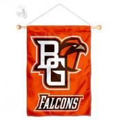 Bowling Green State Falcons Banner with Suction Cup