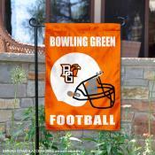 Bowling Green State Falcons Helmet Yard Garden Flag