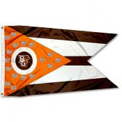 Bowling Green State Falcons State of Ohio Flag