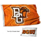 Bowling Green State Falcons Two Logo Double Sided Flag
