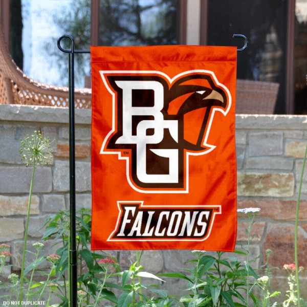 Bowling Green State University Garden Flag is 13x18 inches in size, is made of 2-layer polyester, screen printed Bowling Green State University athletic logos and lettering. Available with Same Day Express Shipping, Our Bowling Green State University Garden Flag is officially licensed and approved by Bowling Green State University and the NCAA.