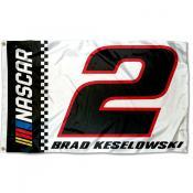Brad Keselowski 3x5 Large Banner Flag