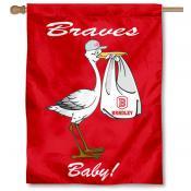 Bradley Braves New Baby Flag