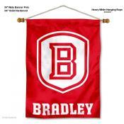 Bradley Braves Wall Banner