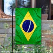 Brazil Double Sided Garden Flag