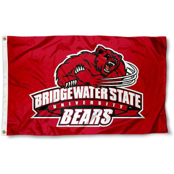Bridgewater State Bears Flag measures 3'x5', is made of 100% poly, has quadruple stitched sewing, two metal grommets, and has double sided Team University logos. Our BSU Bears 3x5 Flag is officially licensed by the selected university and the NCAA.