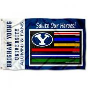 Brigham Young Cougars Essential Services Flag
