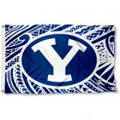 Brigham Young Cougars Samoan Flag
