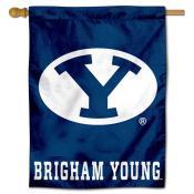 Brigham Young University Decorative Flag