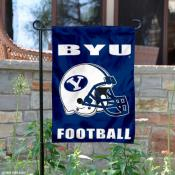 Brigham Young University Helmet Yard Flag