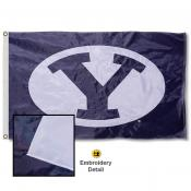 Brigham Young University Nylon Embroidered Flag