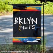 Brooklyn Nets City Edition Double Sided Garden Flag