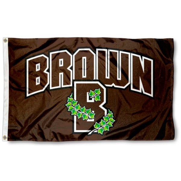 Brown Bears Athletic Logo Flag is made of 100% nylon, offers quad stitched flyends, measures 3x5 feet, has two metal grommets, and is viewable from both side with the opposite side being a reverse image. Our Brown Bears Athletic Logo Flag is officially licensed by the selected college and NCAA