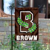 Brown Bears Athletic Logo Garden Flag