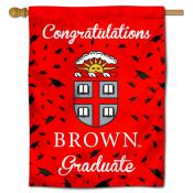 Brown Bears Congratulations Graduate Flag