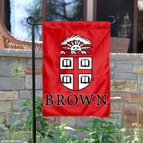 Brown Bears Garden Flag is 13x18 inches in size, is made of 2-layer polyester, screen printed Brown Bears athletic logos and lettering. Available with Same Day Express Shipping, Our Brown Bears Garden Flag is officially licensed and approved by Brown Bears and the NCAA.