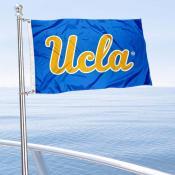 Bruins Boat and Mini Flag