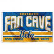 Bruins Fan Man Cave Game Room Banner Flag