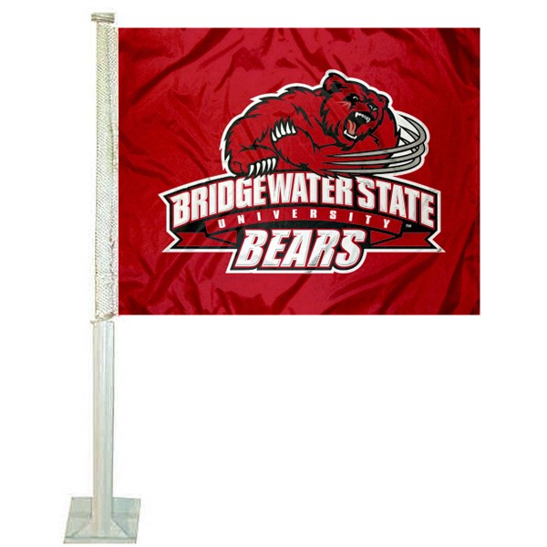 BSU Bears Logo Car Flag measures 12x15 inches, is constructed of sturdy 2 ply polyester, and has screen printed school logos which are readable and viewable correctly on both sides. BSU Bears Logo Car Flag is officially licensed by the NCAA and selected university.