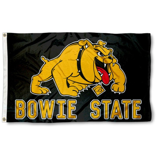 BSU Bulldogs Bowie State Flag is made of 100% nylon, offers quad stitched flyends, measures 3x5 feet, has two metal grommets, and is viewable from both side with the opposite side being a reverse image. Our BSU Bulldogs Bowie State Flag is officially licensed by the selected college and NCAA