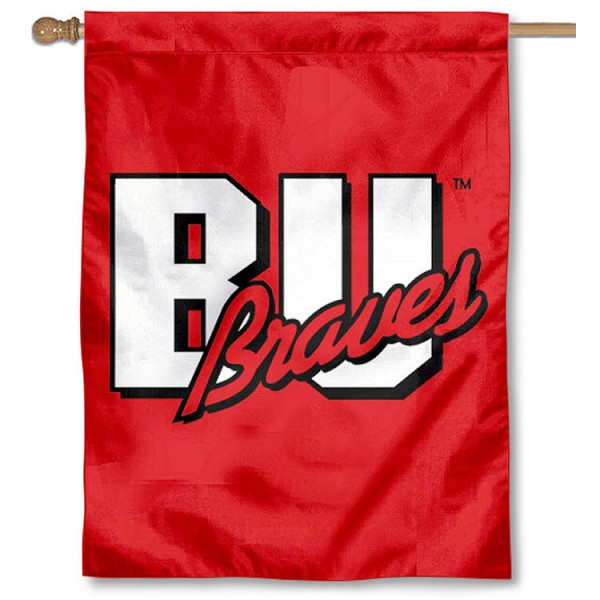 BU Braves House Flag is a vertical house flag which measures 30x40 inches, is made of 2 ply 100% polyester, offers dye sublimated NCAA team insignias, and has a top pole sleeve to hang vertically. Our BU Braves House Flag is officially licensed by the selected university and the NCAA.