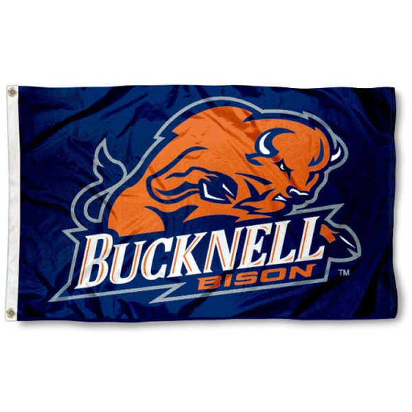 This Bucknell Bison Flag measures 3'x5', is made of 100% nylon, has quad-stitched sewn flyends, and has two-sided Bucknell Unviersity printed logos. Our Bucknell Bison Flag is officially licensed and all flags for Bucknell Bison are approved by the NCAA and Same Day UPS Express Shipping is available.