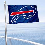 Buffalo Bills Boat and Nautical Flag