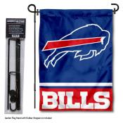 Buffalo Bills Garden Flag and Stand