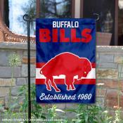 Buffalo Bills Throwback Logo Double Sided Garden Flag Flag