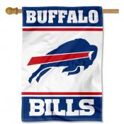 Buffalo Bills White Double Sided House Banner