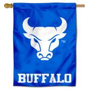 Buffalo Bulls Blue Logo Banner Flag