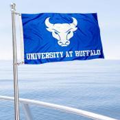 Buffalo Bulls Boat and Mini Flag