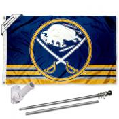 Buffalo Sabres Flag Pole and Bracket Kit