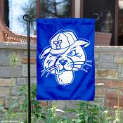 BYU Cougars Royal Blue Cougar Garden Flag