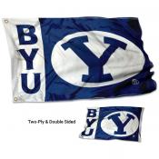 BYU Double Sided 3x5 Flag