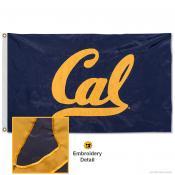 Cal Bears Nylon Embroidered Flag