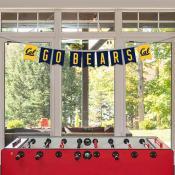 Cal Berkeley Golden Bears Banner String Pennant Flags