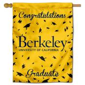 Cal Berkeley Golden Bears Congratulations Graduate Flag