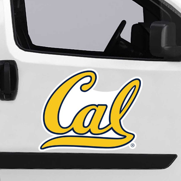 Cal Berkeley Golden Bears Large Magnet is ideal for inside or outside uses, car and auto door panels, and a great gift idea. Each magnet is a large 16x16 inches, is made of flexible 20 mil magnetic vinyl and has screen printed school logos and team names and slogans.