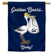 Cal Berkeley Golden Bears New Baby Flag