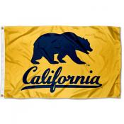 Cal Berkeley Golden Bears Walking Bear Flag