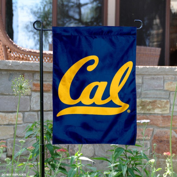 Cal Golden Bears Garden Flag is 13x18 inches in size, is made of 2-layer polyester, screen printed Cal Golden Bears athletic logos and lettering. Available with Same Day Express Shipping, Our Cal Golden Bears Garden Flag is officially licensed and approved by Cal Golden Bears and the NCAA.