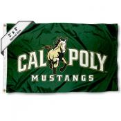 Cal Poly Mustangs Small 2'x3' Flag