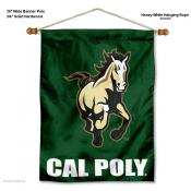 Cal Poly Mustangs Wall Banner