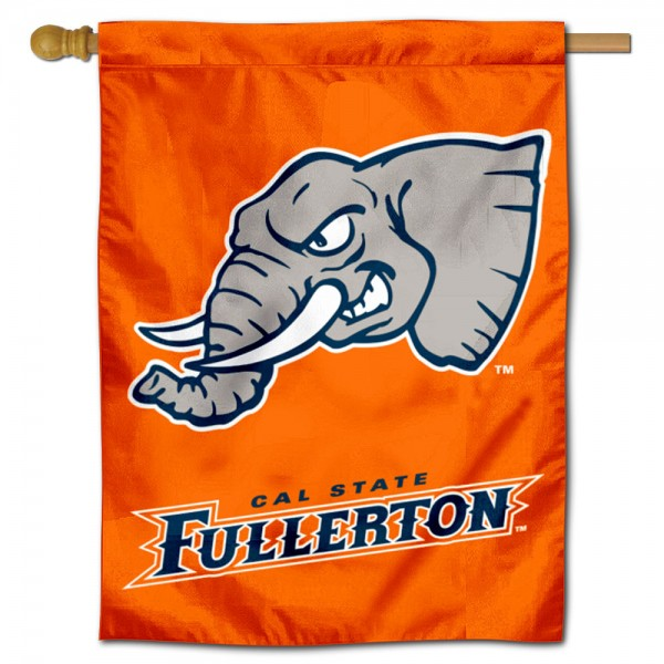 Cal State Fullerton Titans Double Sided House Flag is a vertical house flag which measures 30x40 inches, is made of 2 ply 100% polyester, offers screen printed NCAA team insignias, and has a top pole sleeve to hang vertically. Our Cal State Fullerton Titans Double Sided House Flag is officially licensed by the selected university and the NCAA.