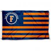 Cal State Fullerton Titans Stripes Flag