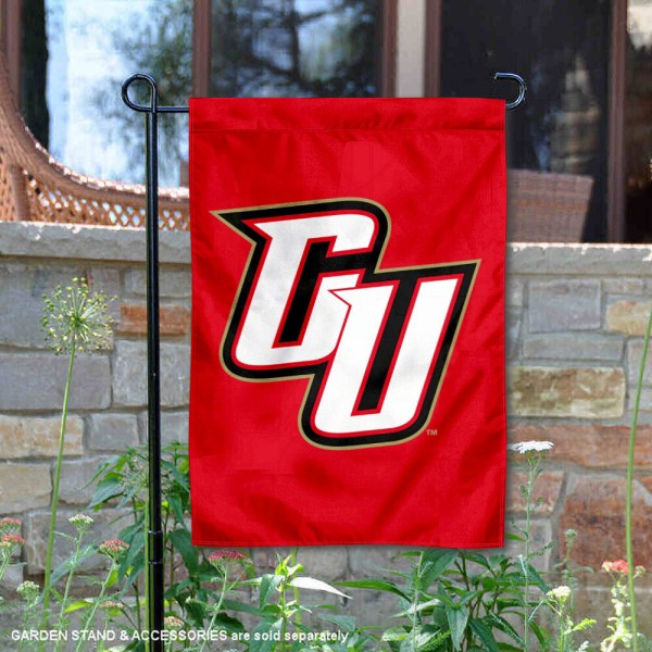 Caldwell Cougars Garden Flag is 13x18 inches in size, is made of 2-layer polyester, screen printed university athletic logos and lettering, and is readable and viewable correctly on both sides. Available same day shipping, our Caldwell Cougars Garden Flag is officially licensed and approved by the university and the NCAA.