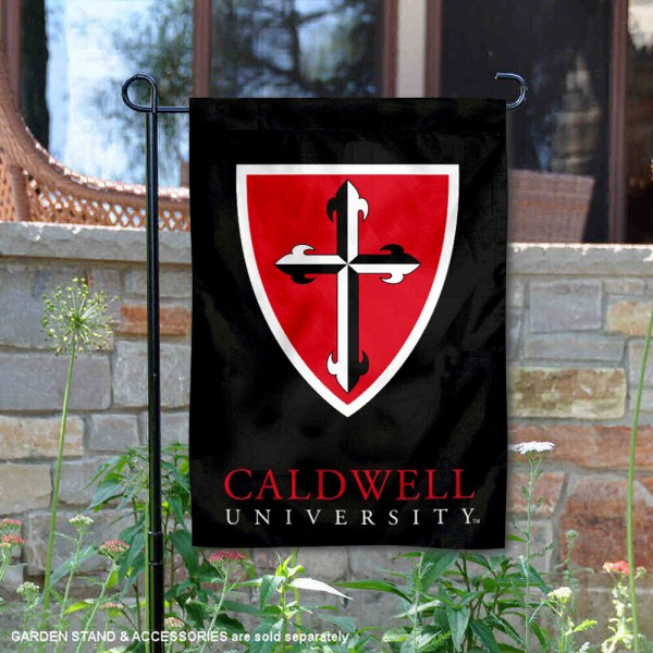Caldwell Cougars Wordmark Logo Garden Flag is 13x18 inches in size, is made of 2-layer polyester, screen printed university athletic logos and lettering, and is readable and viewable correctly on both sides. Available same day shipping, our Caldwell Cougars Wordmark Logo Garden Flag is officially licensed and approved by the university and the NCAA.