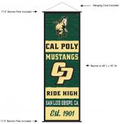California Polytech State University Decor and Banner